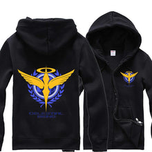 Load image into Gallery viewer, Gundam 00 Logo Sweatshirt Hoodie Jacket