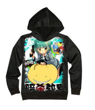 Load image into Gallery viewer, Assassination Classroom Print Hoodie Sweatshirt Jacket