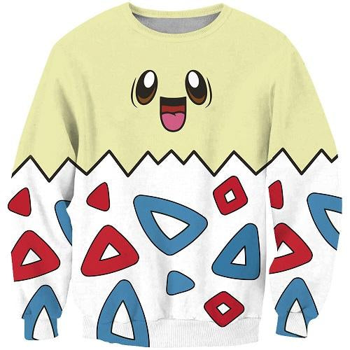 Pokemon Harajuku Cute Kawaii Sweatshirt Hoodie