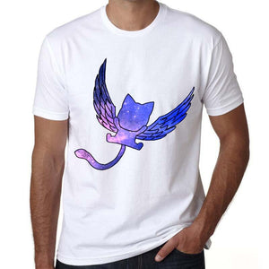 Fairy Tail Happy Cat Anime T-Shirt 7 Styles