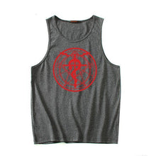Load image into Gallery viewer, Fullmetal Alchemist Cotton Fitness Anime Tank Top