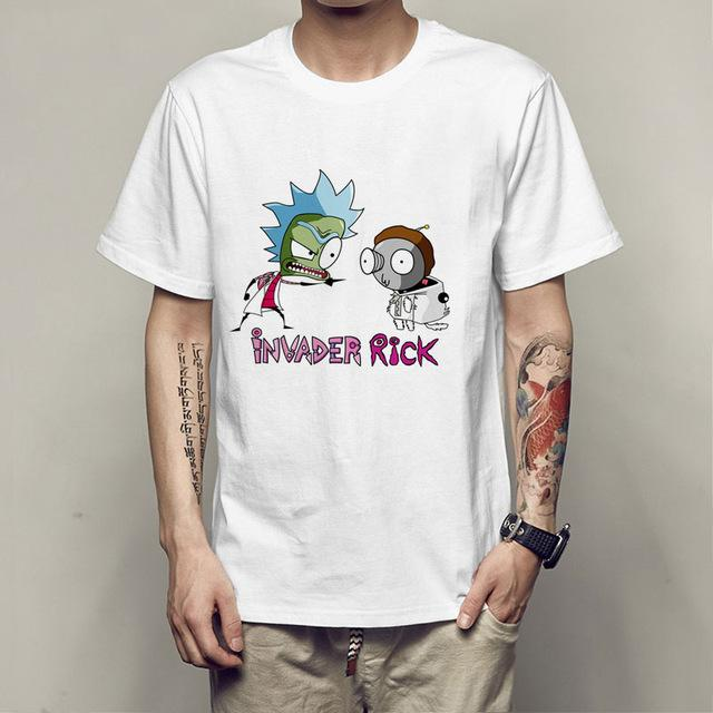 Rick And Morty Funny Summer Anime T-Shirt