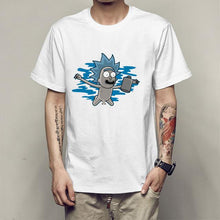 Load image into Gallery viewer, Rick And Morty Funny Summer Anime T-Shirt