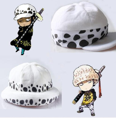 Anime One Piece Trafalgar Law Cosplay Death Hat