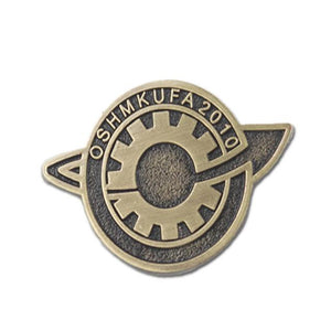 Anime Steins Gate Makise Kurisu Labmen Badges Pin Brooch Cosplay