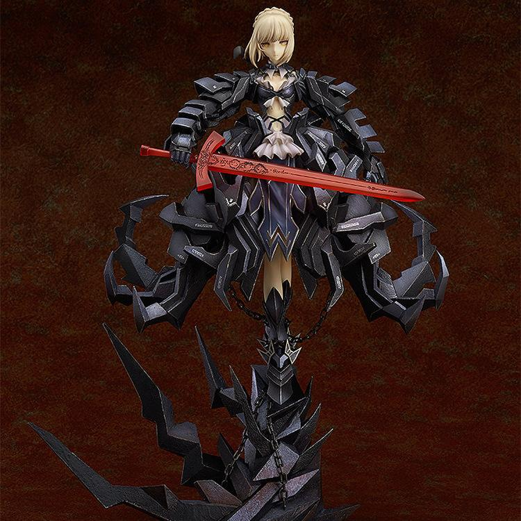 Fate Stay Night Fate Zero Black Arturia Pendragon Action Figure