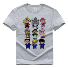 Load image into Gallery viewer, Fullmetal Alchemist Parody Funny Drawing T-Shirts 10 Colors
