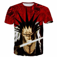 Load image into Gallery viewer, Bleach Kenpachi Zaraki 3D Hipster Style T-Shirt