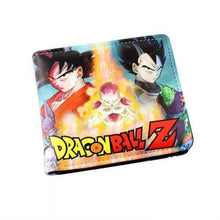 Load image into Gallery viewer, Dragonball Z Goku Vegeta Freiza Wallet
