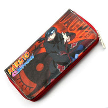 Load image into Gallery viewer, Naruto Colorful Long Style Wallet Uchiha Itachi & Naruto