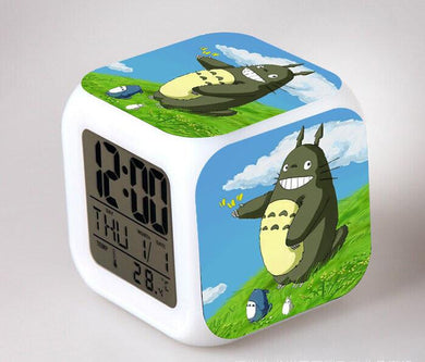 Totoro Digital Anime Alarm Clock V10