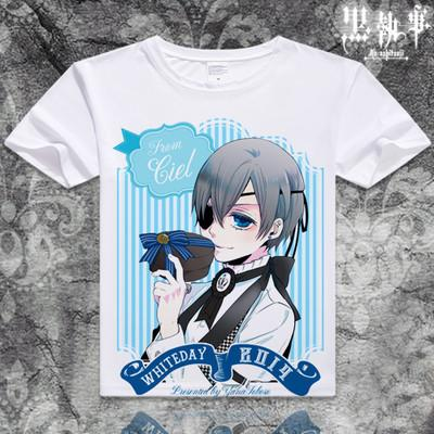 Black Butler Short Sleeve Anime T-Shirt V10