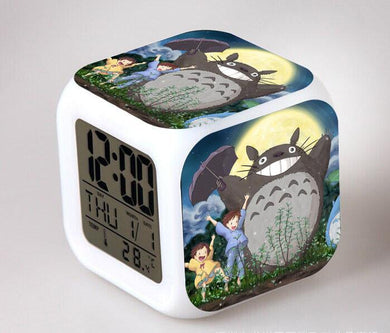 Totoro Digital Anime Alarm Clock V11