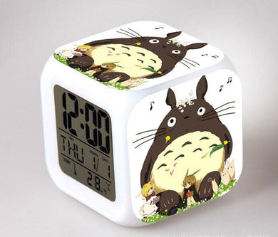 Totoro Digital Anime Alarm Clock V12