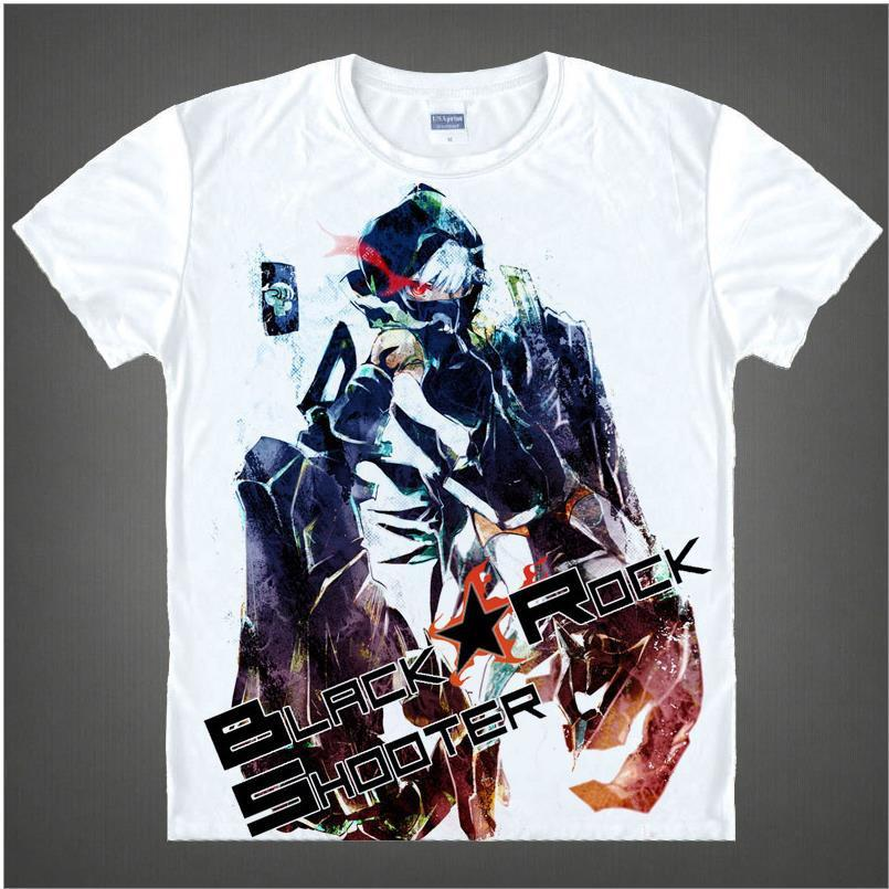 Black Rock Shooter Short Sleeve Anime T-Shirt V12