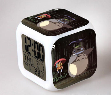 Totoro Digital Anime Alarm Clock V13