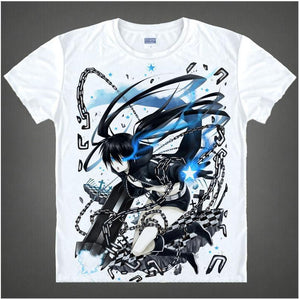 Black Rock Shooter Short Sleeve Anime T-Shirt V13