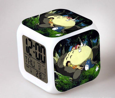 Totoro Digital Anime Alarm Clock V14