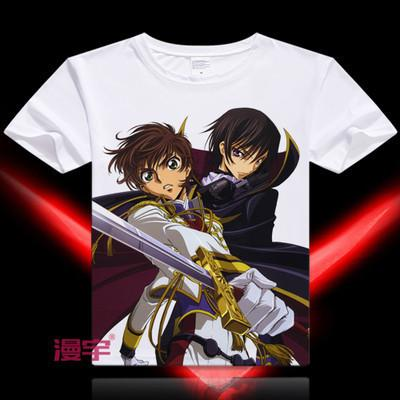Code Geass Short Sleeve Anime T-Shirt V14
