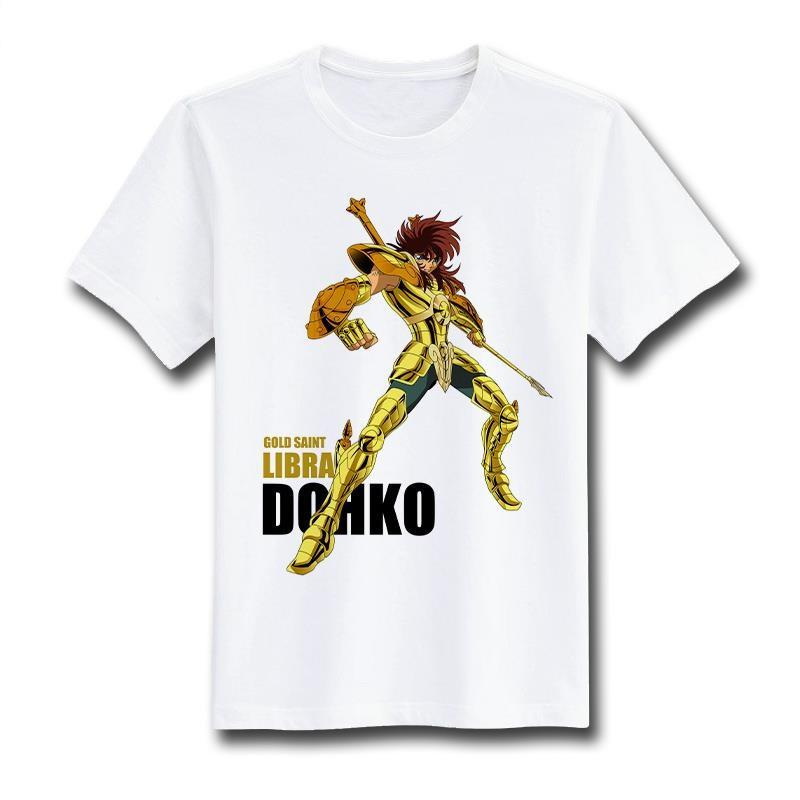 Saint Seiya Short Sleeve Anime T-Shirt V15