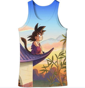 Dragon Ball Z Graphic Summer Anime Tank Top V15