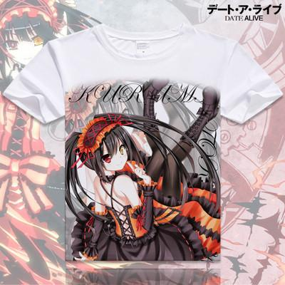 Date A Live Short Sleeve Anime T-Shirt V16