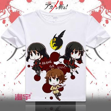 Akame Ga Kill Short Sleeve Anime T-Shirt V16