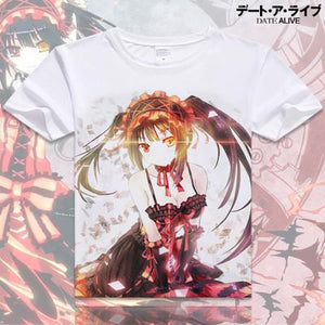 Date A Live Short Sleeve Anime T-Shirt V17