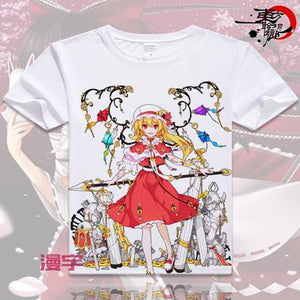 Touhou Project Short Sleeve Anime T-Shirt V18