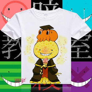 Assassination Classroom Short Sleeve Anime T-Shirt V19