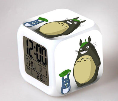 Totoro Digital Anime Alarm Clock V1