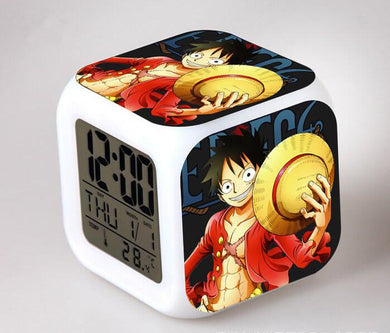 One Piece Digital Anime Alarm Clock V1