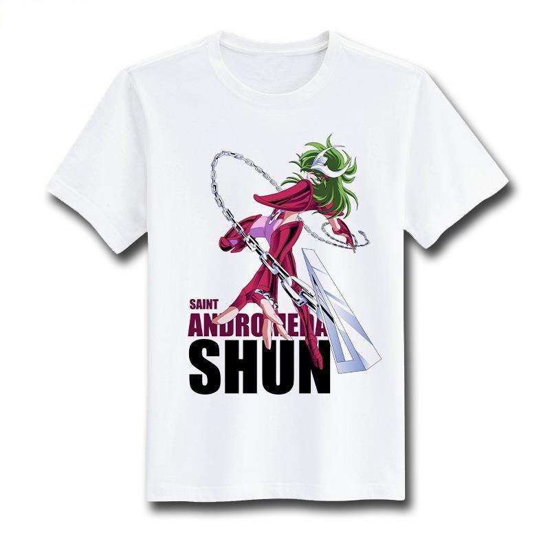 Saint Seiya Short Sleeve Anime T-Shirt V1