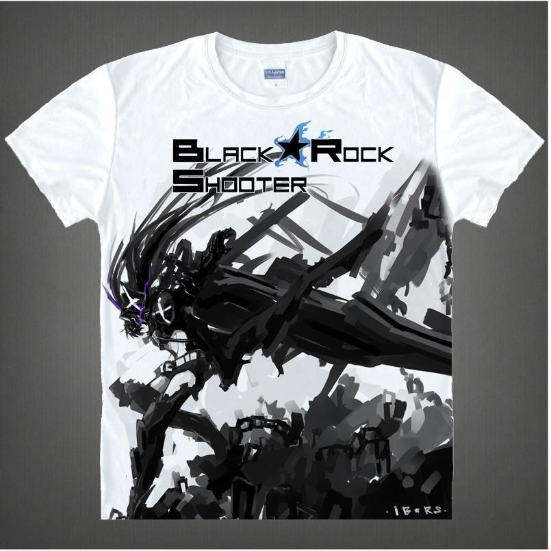 Black Rock Shooter Short Sleeve Anime T-Shirt V2
