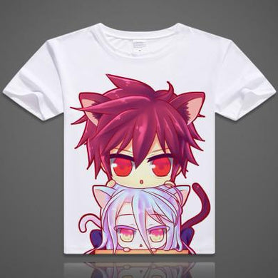 No Game No Life Short Sleeve Anime T-Shirt V2