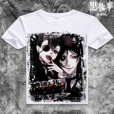 Black Butler Short Sleeve Anime T-Shirt V2