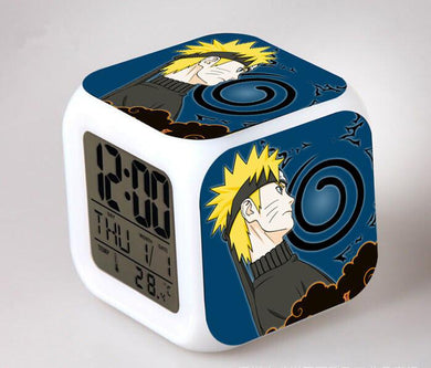Naruto Digital Anime Alarm Clock V2