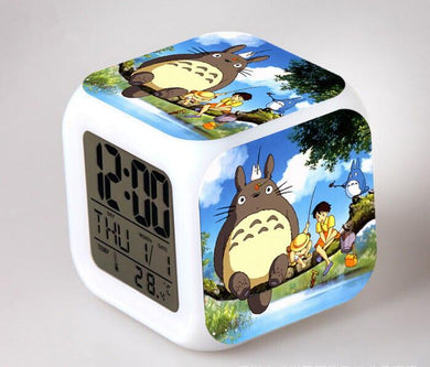 Totoro Digital Anime Alarm Clock V2