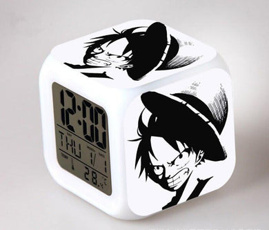 One Piece Digital Anime Alarm Clock V2