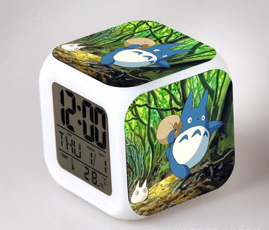 Totoro Digital Anime Alarm Clock V3