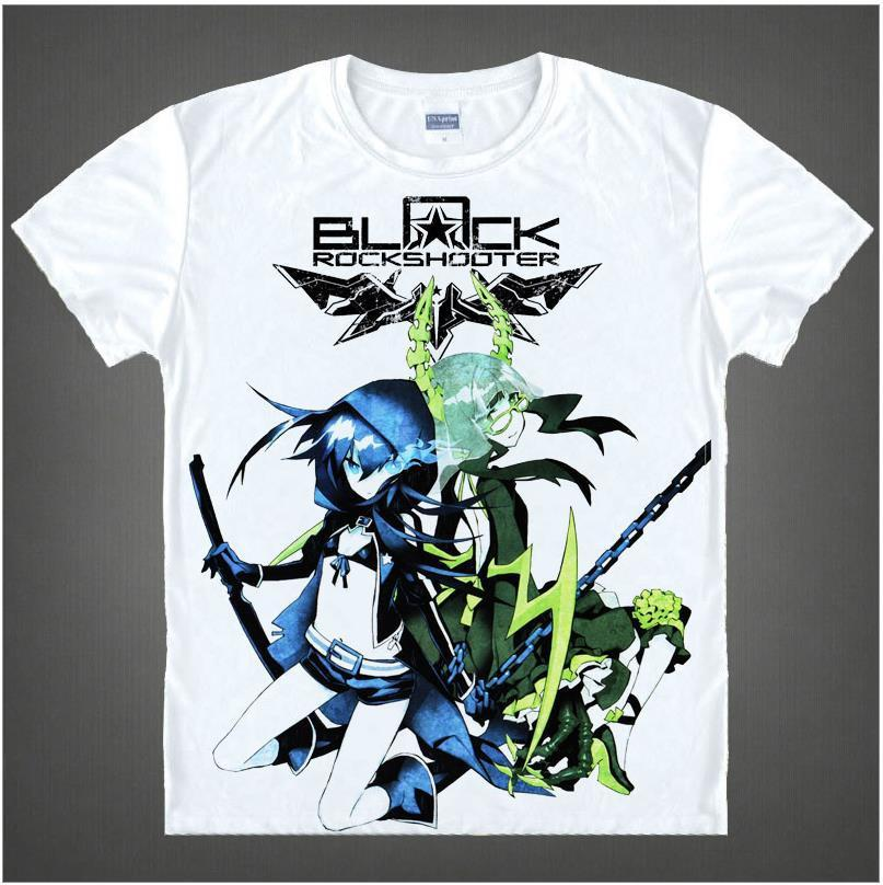 Black Rock Shooter Short Sleeve Anime T-Shirt V3