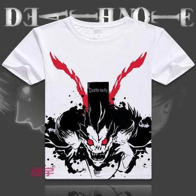 Death Note Short Sleeve Anime T-Shirt V4