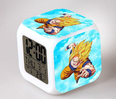 Dragon Ball Z Digital Anime Alarm Clock V4