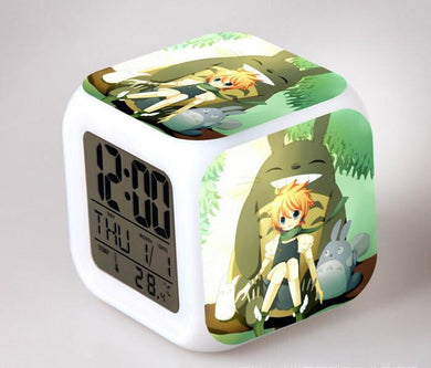 Totoro Digital Anime Alarm Clock V4