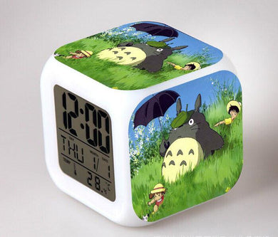 Totoro Digital Anime Alarm Clock V5
