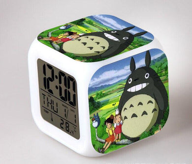 Totoro Digital Anime Alarm Clock V6