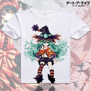 Date A Live Short Sleeve Anime T-Shirt V7