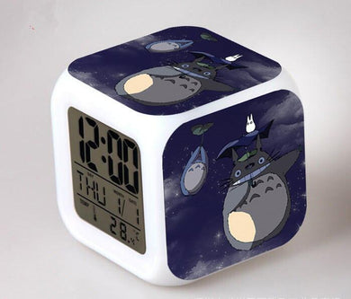 Totoro Digital Anime Alarm Clock V8