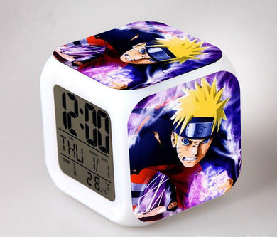Naruto Digital Anime Alarm Clock V9