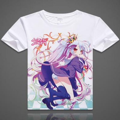 No Game No Life Short Sleeve Anime T-Shirt V9
